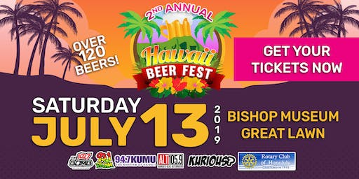 Hawaii Beer Fest 2019