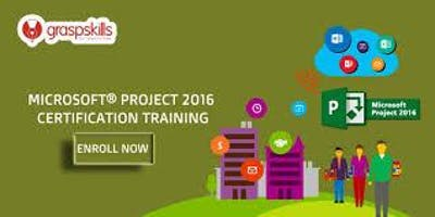 Microsoft® project 2016 certification training in