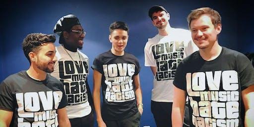 Kioko live @ Queen Mary: Love Music Hate Racism