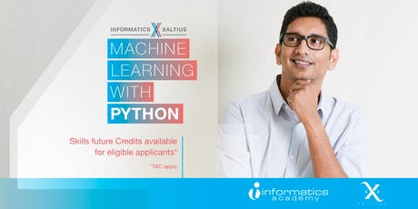 Machine Learning Using Python - Short Course (Course Code: CRS-N-0049291) tickets