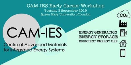 CAM-IES Early Career Workshop tickets