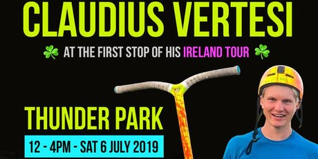 Claudius Vertesi at Thunder Park tickets