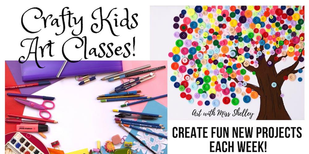Sunday Crafty Kids Art Class With Miss Shelley Starry Night