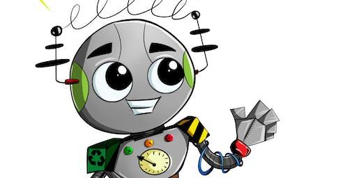 ScrapBot Wonderland!, 9-11 yrs (2 days and a half ROBOTICS course)