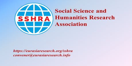 5th Dubai – International Conference on Social Science & Humanities (ICSSH), 09-10 December 2019 tickets