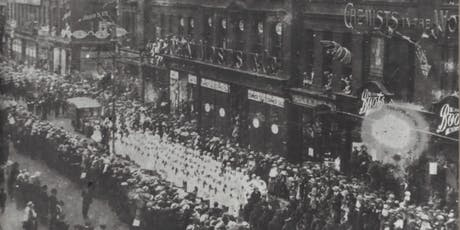 The End of the Great War: Celebration and Commemoration 1919 talk by Ian Mcardle, City Library, Tuesday 23 July, Room 1 & 2, Level 2, 2.30pm tickets