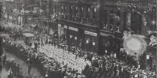 The End of the Great War: Celebration and Commemoration 1919 talk by Ian Mcardle, City Library, Tuesday 23 July, Room 1 & 2, Level 2, 2.30pm