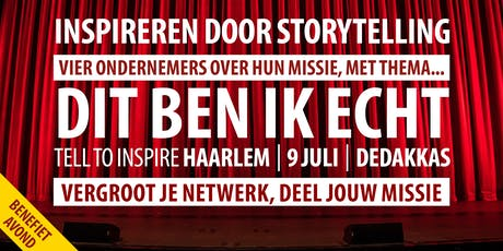 Inspireren door storytelling tickets