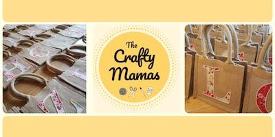 Crafty Mamas After Dark - Personalised Hessian Bag Workshop