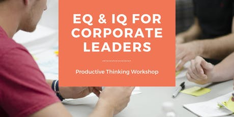 EQ & IQ For Corporate Leaders tickets
