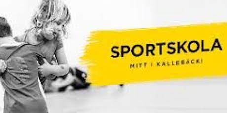 Sportskolan vid Kallebäcks Terrasser  tickets