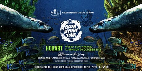 Sea Shepherd's Ocean Defence Tour 2019 - HOBART tickets