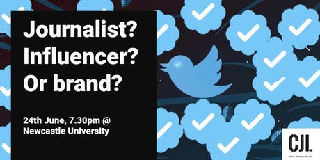 Journalist, influencer or brand? tickets