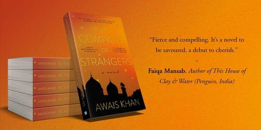 Author event - meet Awais Khan, author of In the Company of Strangers