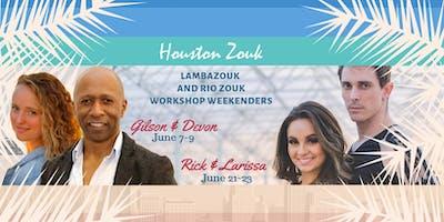 Houston Zouk Lambada Zouk/Brazilian Zouk Weekenders
