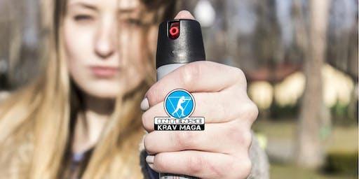 Pfefferspray in der Selbstverteidigung - Handhabung, Umgang und Einsatz