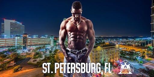 Ebony Men Black Male Revue Strip Clubs & Black Male Strippers St Petersburg, FL 8-10 PM