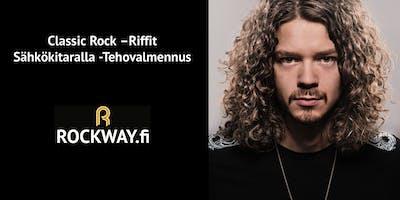 Classic Rock -Riffit Sähkökitaralla -Tehovalmennus 1.9.2019