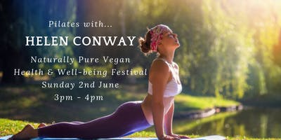 Pilates with Helen Conway - Naturally Pure Vegan Health Festival