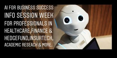 AI for Business Success - Info Session Week