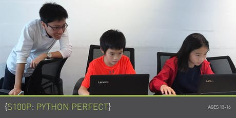 Coding for Teens - S100P: Python Perfect - @ Upp Bukit Timah (5x2H) tickets