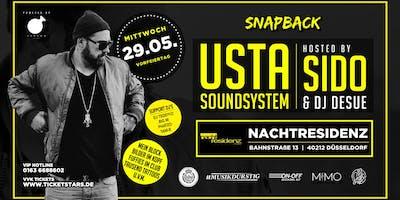 USTA Soundsystem Hosted By SIDO in der Nachtresidenz Düsseldorf