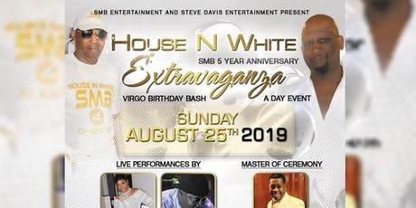 "SMB 5YRS ANNIVERSARY ""HOUSE N WHITE"" EXTRAVAGANZA tickets"