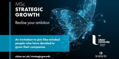 MSc Strategic Growth - Release your company's potential for real growth
