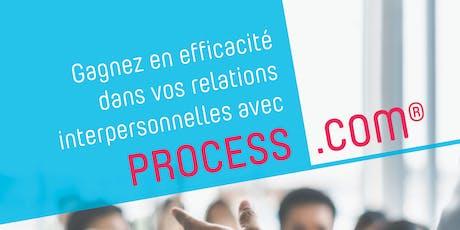 Gagnez en efficacité dans vos relations interpersonnelles avec PROCESS.COM billets