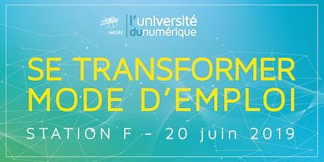 Université du numérique du MEDEF tickets
