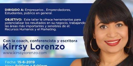 Coaching para Empresarios Y Emprendedores Puerto Plata tickets