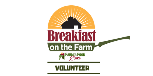 Volunteers- Ontario's Breakfast on the Farm Sept 14, 2019