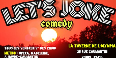 Let's Joke Comedy #2 billets