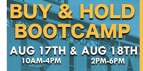 Buy And Hold Bootcamp tickets