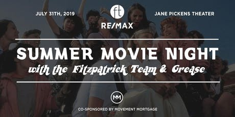 Summer Movie Night with the Fitzpatrick Team tickets