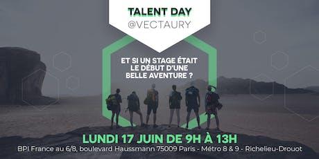 Talent Day @Vectaury billets