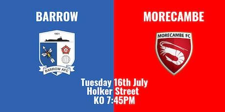 Barrow v Morecambe - HOME SUPPORTERS tickets