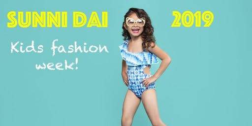 Sunni Dai Kids Fashion Show Los Angeles