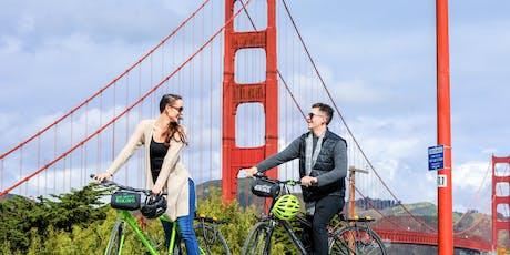Unlimited Biking: Golden Gate Bridge Bike Rentals tickets
