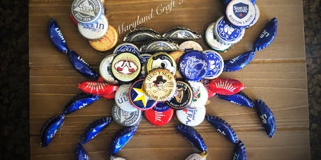 Crab Bottle Cap Plaque with Artist Jenn Moselen tickets