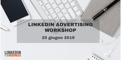LinkedIn Advertising Workshop- Come creare campagne di successo su LinkedIn