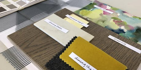 Designer's Table: Create a Moodboard for your Interior Design Project tickets