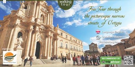 Ortigia free walking tour biglietti