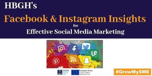Facebook & Instagram Insights for Effective Social Media Marketing (Hull)