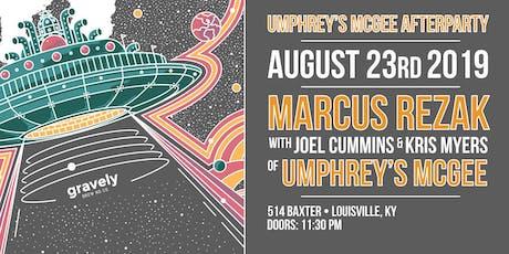 Umphrey's McGee Afterparty: Marcus Rezak w/ Joel Cummins & Kris Myers tickets