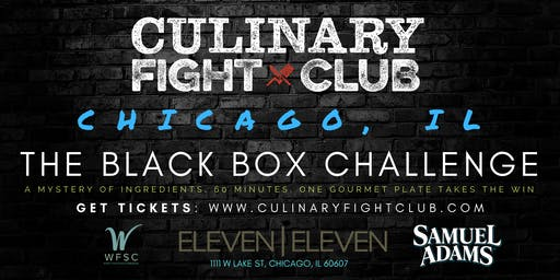 Culinary Fight Club - CHICAGO: The Black Box Challenge