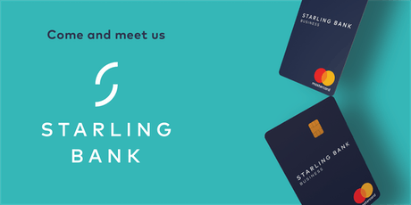 Meet Starling Bank, the new bank in town tickets