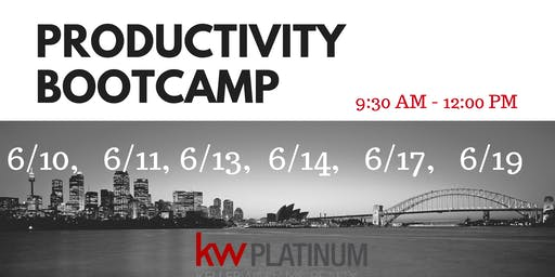 Productivity Bootcamp - June