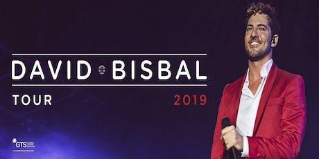 David Bisbal en Andújar, Jaén tickets