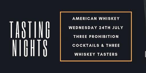 American Whiskey Tasting Night